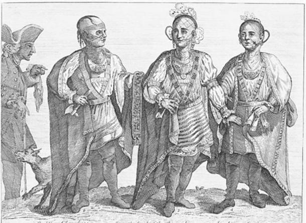 After the Anglo-Cherokee War, bitterness remained between the two groups. In 1765, Henry Timberlake took three of the former Cherokee adversaries to London to help cement the newly declared friendship. (Public Domain)