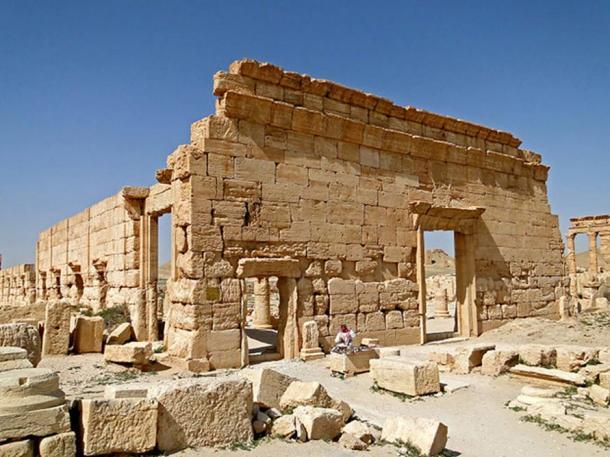 A 2010 image of the Agora in Palmyra.