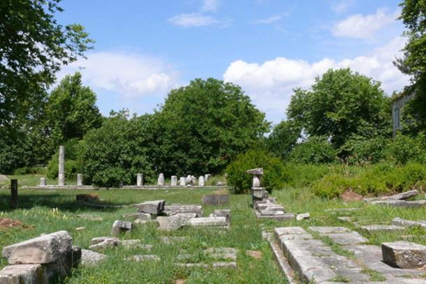 Ancient Agora of Thasos.