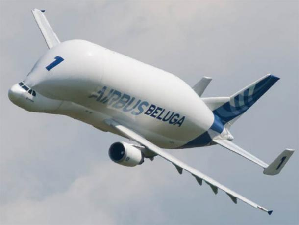 An Airbus Beluga, one of the world's largest cargo planes. (CC BY-SA 3.0)