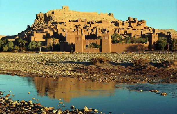 The Ancient, Fortified Ksar of Ait-Ben-Haddou Awaits the Return of Desert Traders