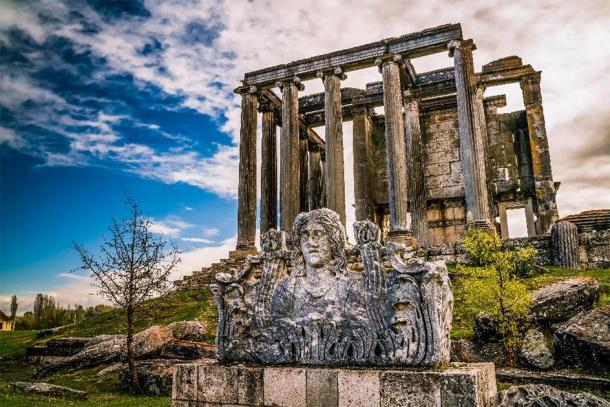 The most famous feature at the Aizanoi archaeological site is the Temple of Zeus - the best-preserved temple honoring the Greek god in all of ancient Anatolia. (ErdalIslak /Adobe Stock)