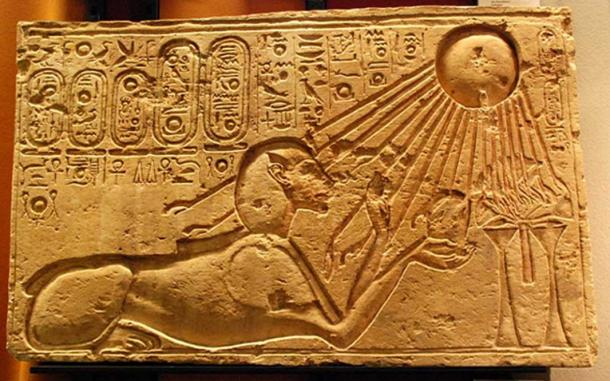 Akhenaten as a Sphinx. (CC BY 2.0)