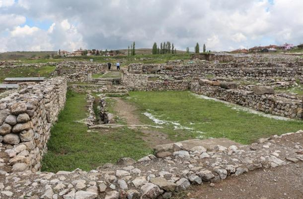 The archaeological site of Alacahöyük
