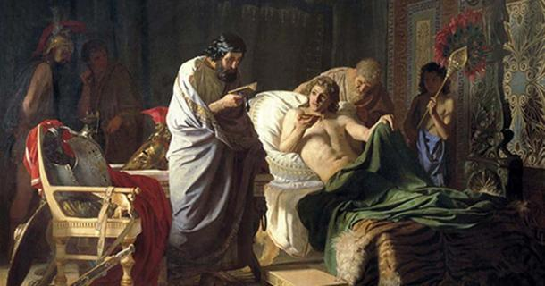 Alexander the Great trust to physician Phillip.