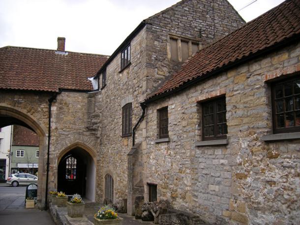 Almonry at Glastonbury Abbey (Image: Courtesy of Neil Rushton)