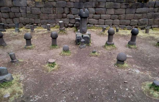 Although they are ancient, the stones are thought to have been moved from the surrounding area and arranged in rows