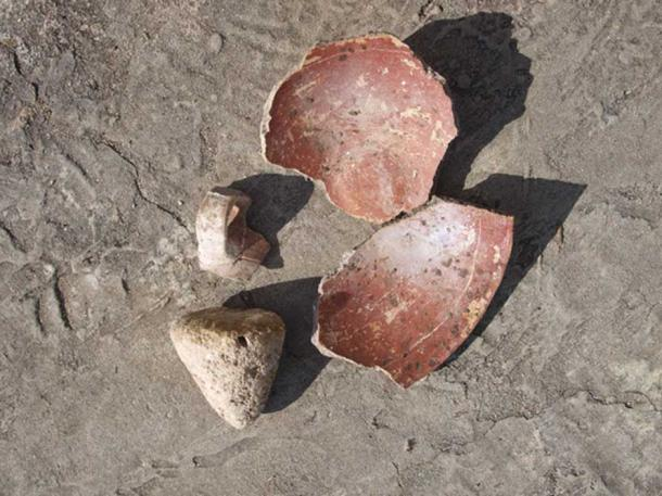 Amerindian pottery discovered on Barbuda.