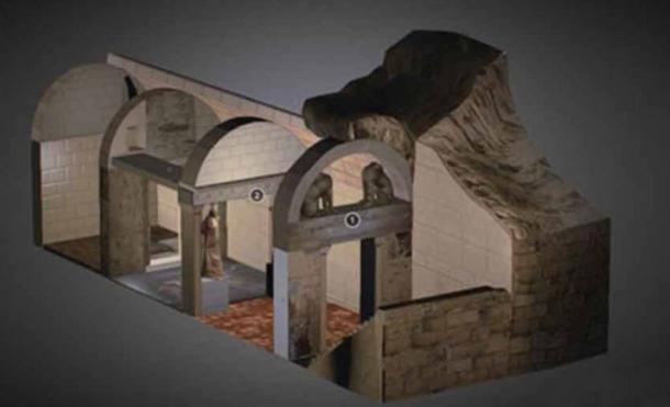 Amphipolis Tomb Sketch