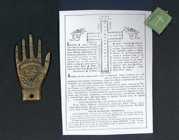 Amulets against the evil eye from de Basque Museum of History of Science and Medicine.