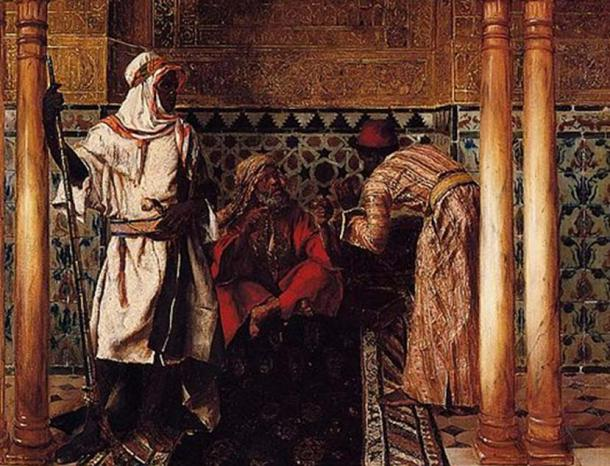 'An Arab Sage' by Rudolf Ernst.