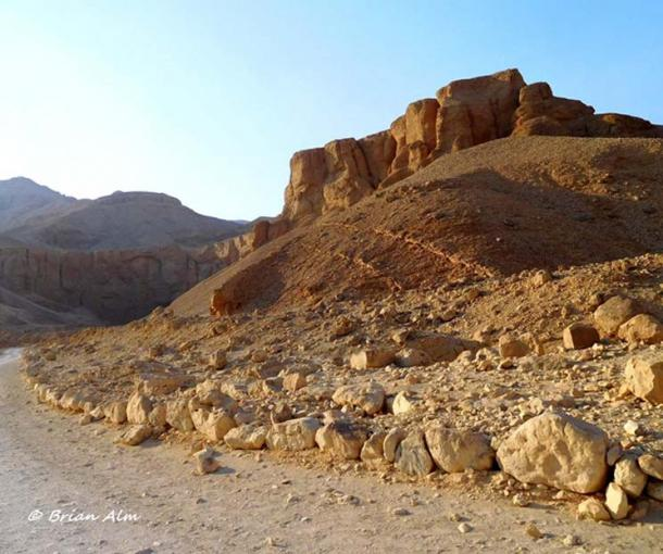 An all-Egyptian archeological mission headed by Dr Zahi Hawass; field supervisor Afifi Rohim Afifi, and Glen Dash and his team of experts have identified a site near King Aye's tomb in the Western Valley as the spot where a late Eighteenth Dynasty tomb could be located.