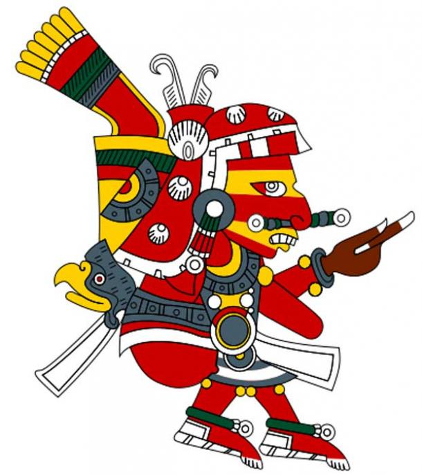 An alternate depiction of the god Xipe Totec. (CC BY 3.0)