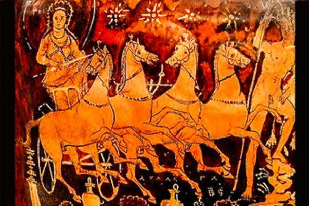 An ancient virginity test involved chariots with young maidens fighting to the death. (Mary Harrsch / CC BY-SA 2.0)
