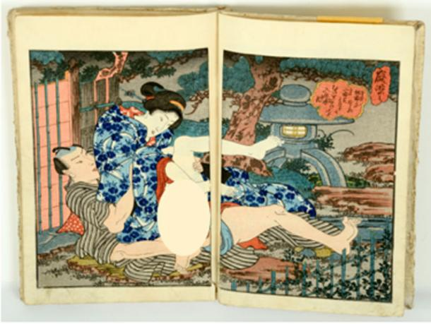 An example of shun-ga erotic art. Credit: fotoember / Adobe Stock