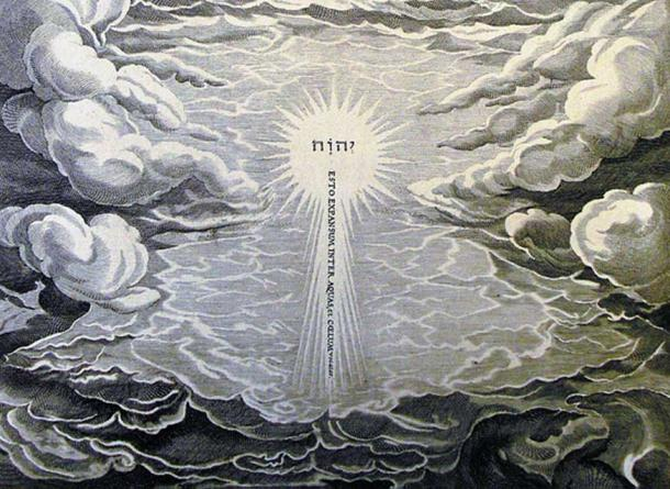 An illustration of creation by Phillip Medhurst