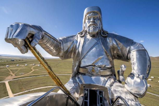 An impressive representation of Genghis Kahn. (Frank Wagner/via Fotolia)