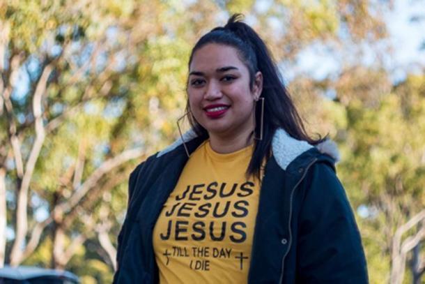 Ana Makahununiu, a pentecostal preacher who lived in the Kimberley for three years. (Credit: ABC News / Scott Mitchell)