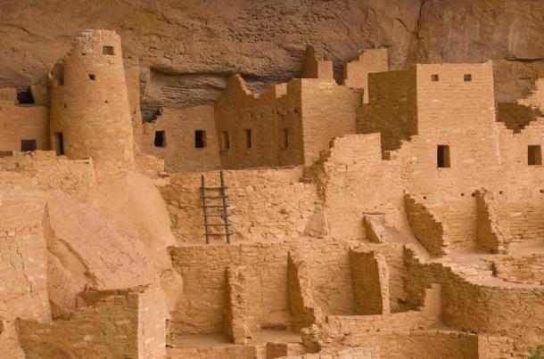 Anasazi Cliff Dwellings in Colorado