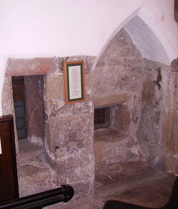 Anchorite's cell in Skipton. (Immanuel Giel / Pubic Domain)
