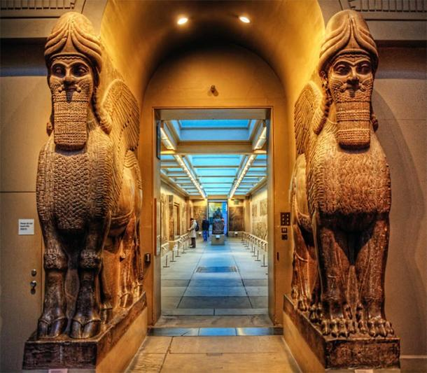 Ancient Assyrian statues found in the British Museum. (Neil Howard / CC BY-NC 2.0)