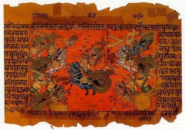 The Ancient Civilizations that Came Before: Self-Eradication, Or Natural Cataclysm?  Ancient-Hindu-texts