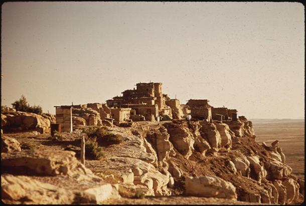 Ancient Hopi Village of Wolpi. Arizona, USA.