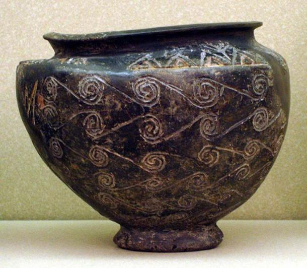 Ancient Kerma bowl kept at the Museum of Fine Arts, Boston.
