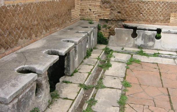 Ancient Roman Public Toilets