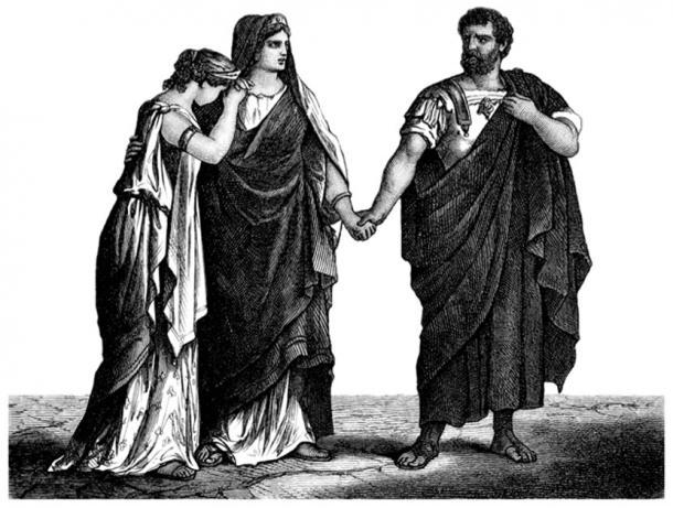 Ancient Rome togas. (Erica Guilane-Nachez / Adobe)