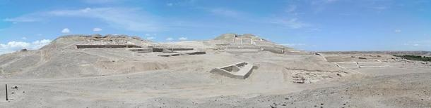 Ancient Temple Complex at Cahuachi