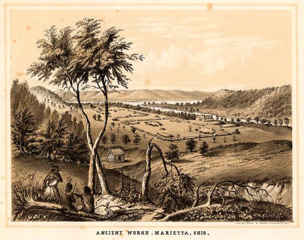 Ancient mounds and monuments of the Mississippi Valley. Originally published in William Cullen Bryant and Sydney Howard Gay