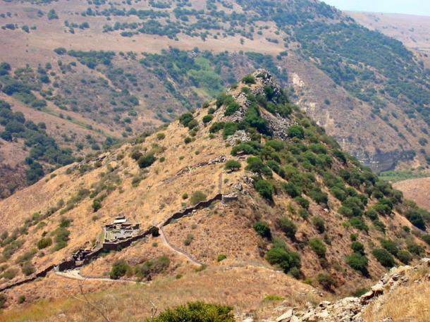 Ancient ruins at Golan Heights