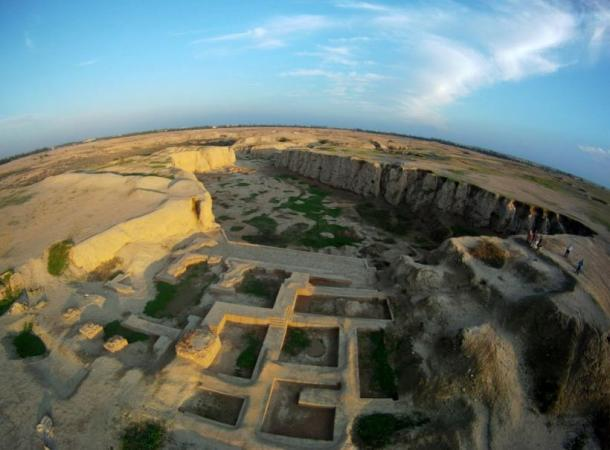Ancient ruins of Susa, Iran