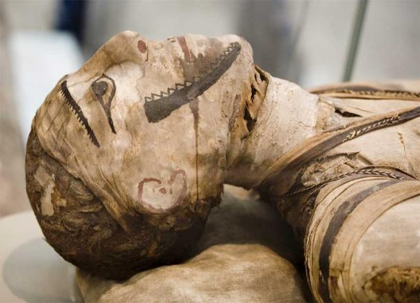 Ancient Egyptian mummified face. Source: markrhiggins / Adobe Stock