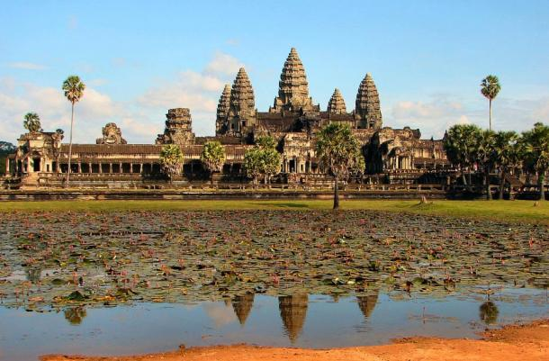The shipwrecks may predate the famous Angkor Wat complex in Cambodia by 2,000 years.