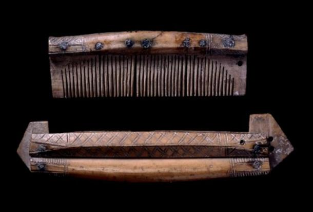 Animal bone and antler combs were painstakingly crafted, but traded widely.