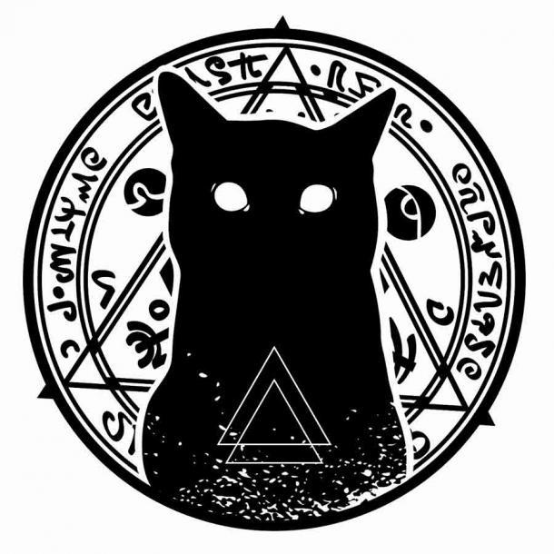 Считалось, что у всех ведьм были фамильяры или дьявольские животные, и черные кошки были самым распространенным доказательством этого.
