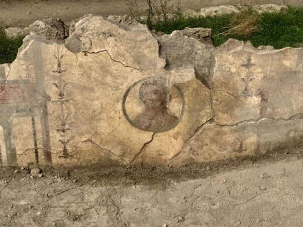 Another fresco found at the domus. (Image: La Repubblica)