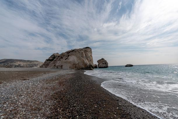 Another view of the shore line at Aphrodite Rock. (Ioannis Syrigos)