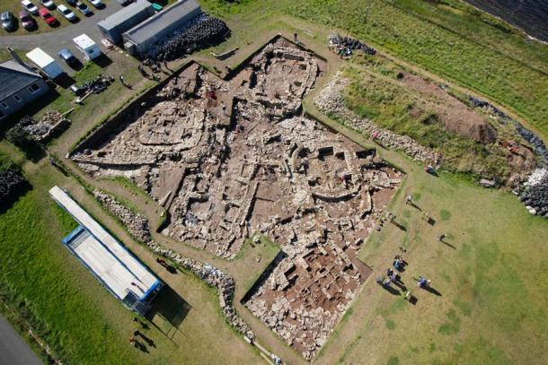 Another view of the Ness of Brodgar (Jo Bourne)