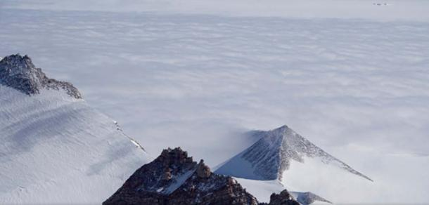 An Antarctic pyramid.