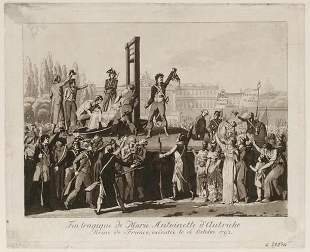 The affair of the necklace hastened Marie Antoinette's execution (Unknown Author / Public Domain)
