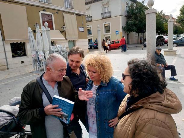 Spanish historian Antonio C. Nunez discussing Phillips' new book