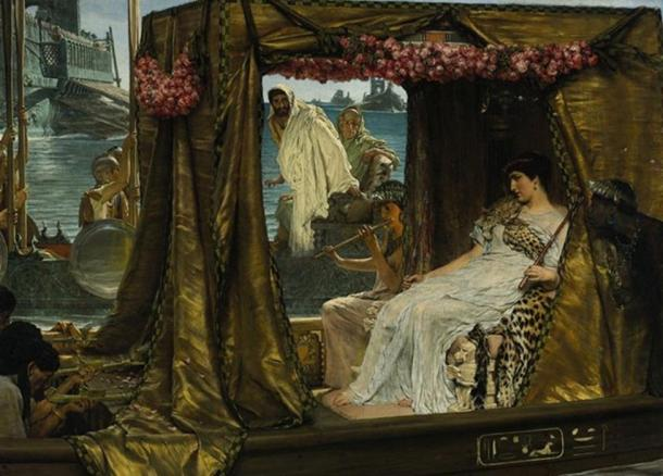 'Antony and Cleopatra' (1885) by Lawrence Alma Tadema.
