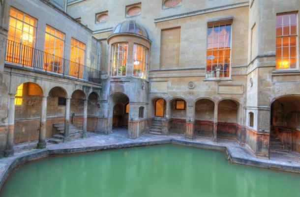 Aquae Sulis en Bath, Inglaterra