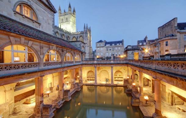 Aquae Sulis in Bath, England.