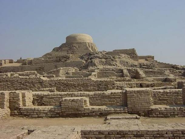 Archaeological Ruins at Mohenjo-Daro (Pakistan). (Junhi Han/CC BY SA 3.0)