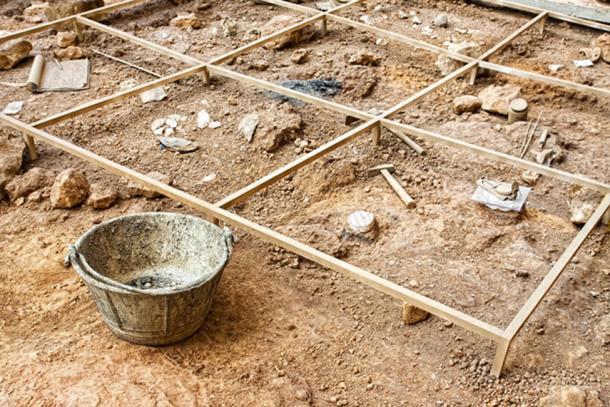 Archaeological excavation. (mrks_v / Adobe)