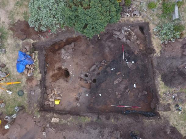 Archaeological excavations at Burghead uncovered relics of the Picts.  Credit: University of Aberdeen